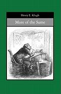 More of the Same - Klugh, Henry E.