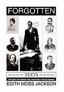 Forgotten Texts - Jackson, Edith Moss