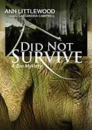 Did Not Survive - Littlewood, Ann