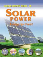 Solar Power: Energy for Free?. Jim Pipe - Pipe, Jim