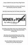 Women of Power - Kleven, Arthur G.