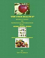 For Your Health II - Johnson, Jim H.
