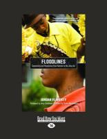 Floodlines: Community and Resistance from Katrina to the Jena Six (Large Print 16pt) - Flaherty, Jordan