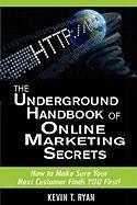The Underground Handbook of Online Marketing Secrets - Ryan, Kevin T.