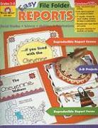 Easy File Folder Reports, Grades 3-6 - Despard, Yvonne