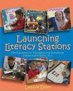Launching Literacy Stations (DVD) - Diller, Debbie