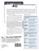 The Asset Approach: 40 Elements of Healthy Development (Pack of 20) - Search Institute; Search Institute Press