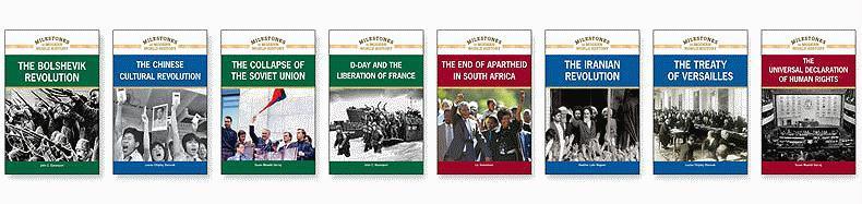 Milestones in Modern World History Set, 8-Volumes - Various