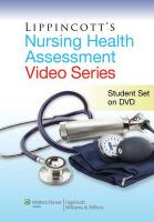 Lippincott's Nursing Health Assessment Video: Student DVD - Lippincott Williams &. Wilkins