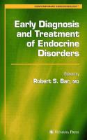 Early Diagnosis and Treatment of Endocrine Disorders