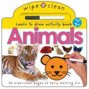 Wipe Clean - Animals