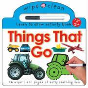 Wipe Clean - Things That Go