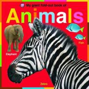 My Giant Fold-out Book of Animals - Priddy, Roger