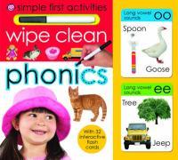 Wipe Clean Phonics - Priddy, Roger