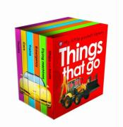 My Little Pocket Things That Go Library - Priddy, Roger