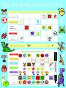 Big and Busy Reward Chart, Blue - Priddy, Roger