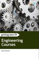 Getting into Engineering Courses - Burnett, James