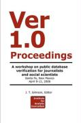 Ver 1.0 Workshop Proceedings - Johnson, J. T.