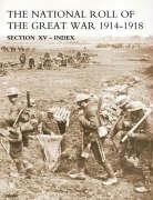 National Roll of the Great War Index