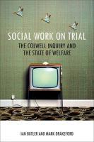 Social Work on Trial - Butler