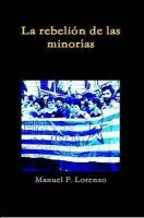 La Rebelin de Las Minoras - Lorenzo, Manuel F.