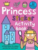 Princess Sticker Activity Book - Priddy, Roger