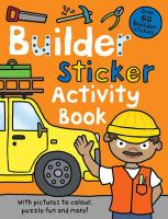 Builder Sticker Activity Book - Priddy, Roger