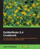 DotNetNuke 5.4 Cookbook (English Edition)
