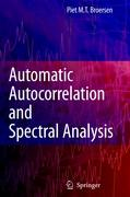 Automatic Autocorrelation and Spectral Analysis - Broersen, Petrus M. T.