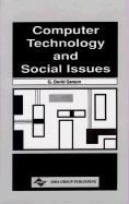 Computer Technology and Social Issues - Garson, G. David