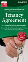 Tenancy Agreement for an Unfurnished House or Flat