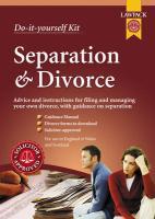 Separation and Divorce Kit