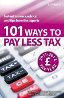 101 Ways to Pay Less Tax - Williams, Hugh