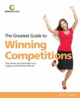 Greatest Guide to Winning Competitions - Jones, Karen