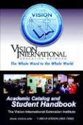Viei Student Handbook & Academic Catalog - Dekoven, Stan