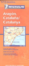 Katalonien, Aragon, Andorra (Michelin Regionalkarte)