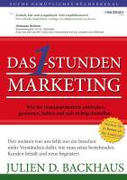 Das 1-Stunden Marketing - Backhaus, Julien D.