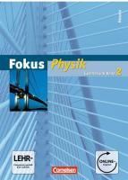 Fokus Physik - Gymnasium Hessen / Band 2 - Schülerbuch mit Online-Anbindung