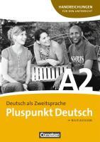Pluspunkt Deutsch: Handreichungen fur den Unterricht mig Kopiervorlagen A2