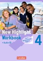 New Highlight  4: 8. Sj. Werkrs. (4 Wochenstd.)/WB/CD BW