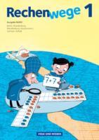 Rechenwege - Nord - Aktuelle Ausgabe - 1. Schuljahr: Schülerbuch mit Kartonbeilagen