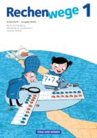 Rechenwege - Nord - Aktuelle Ausgabe - 1. Schuljahr: Arbeitsheft