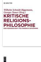 Kritische Religionsphilosophie