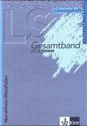 Lambacher Schweizer - Ausgabe für Nordrhein-Westfalen/Lösungsheft Gesamtband 12./13. Schuljahr