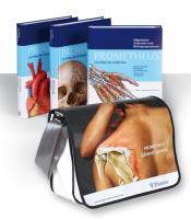 LernPaket mit allen drei PROMETHEUS Bänden: LernAtlas der Anatomie. Allgemeine Anatomie und Bewegungssystem. Innere Organe. Kopf, Hals und Neuroanatomie