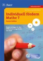 Individuell fördern Mathe 7 Ganze Zahlen