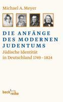 Die Anfänge des modernen Judentums