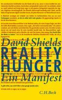 Realityhunger: Ein Manifest