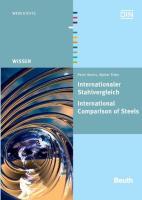 Marks, P: Internationaler Stahlvergleich