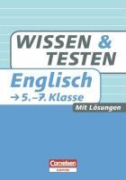Wissen und Testen 5.-7. Schuljahr Englisch